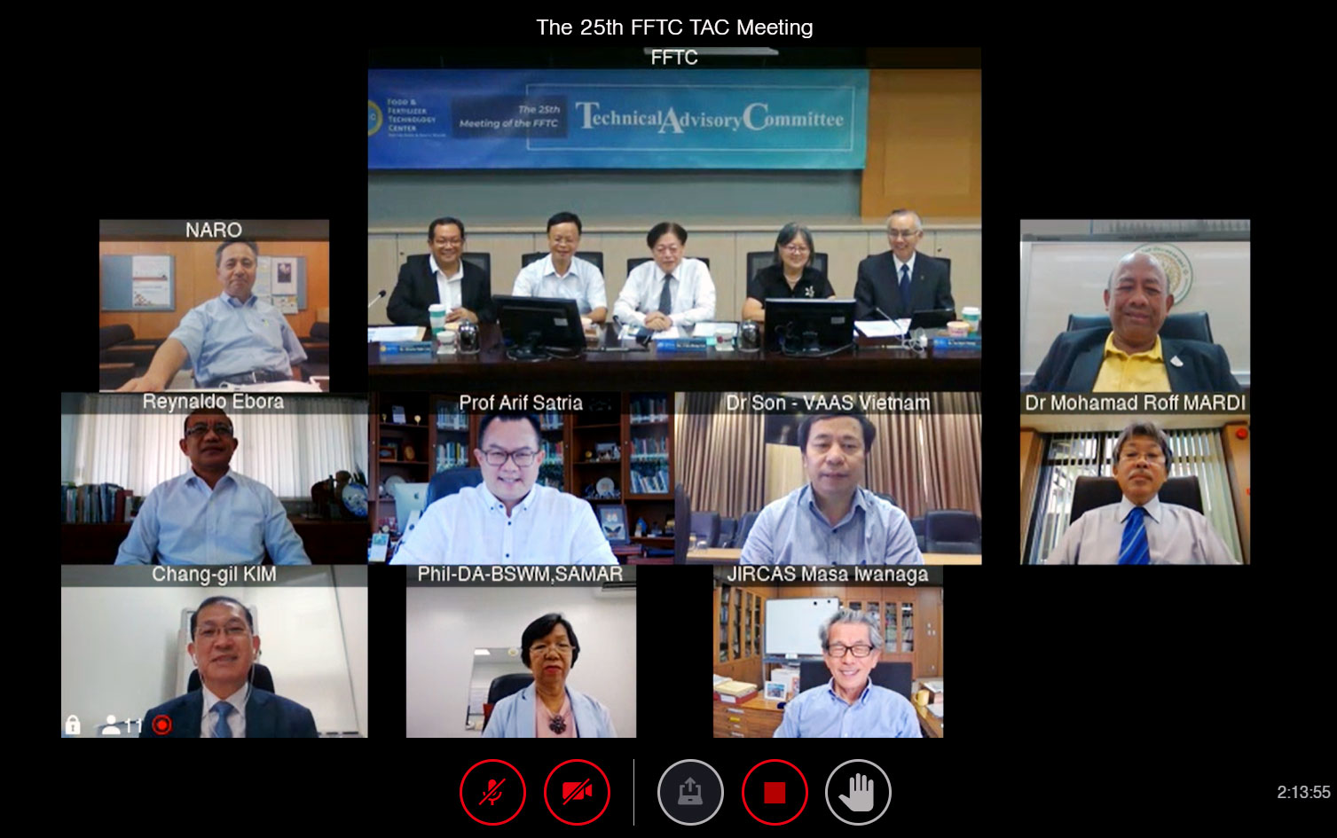The 25th Meeting of FFTC Technical Advisory Committee (TAC)