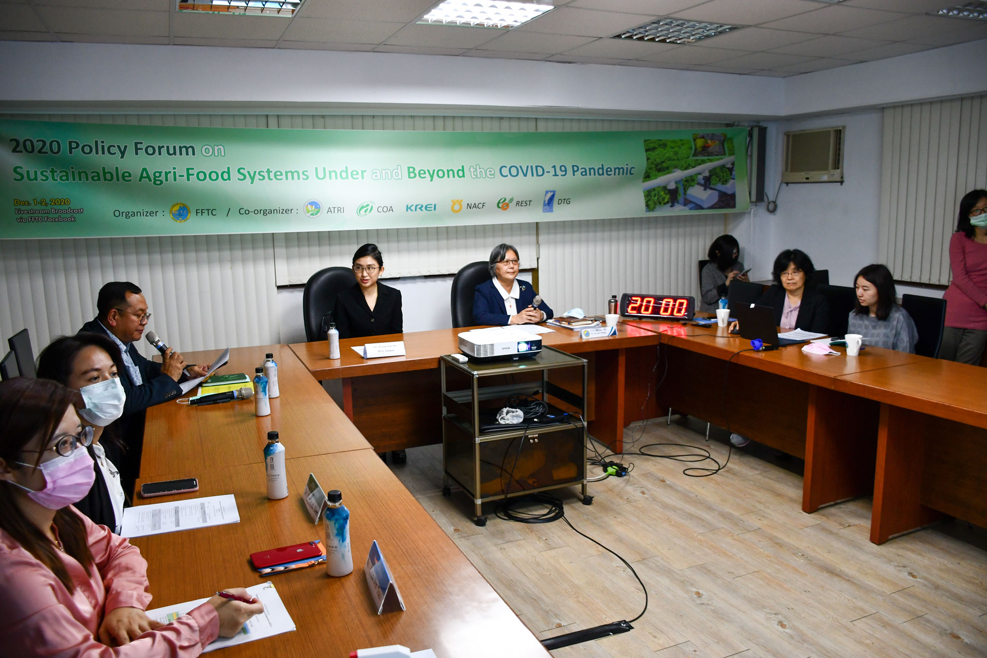 FFTC-AP forum tackles building of agri-food system resilience to cope with COVID-19